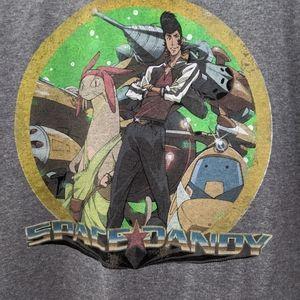 NWOT Space Dandy Anime Tshirt